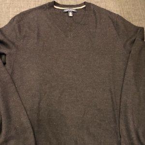 Men's Banana Republic V neck Sweater in brown